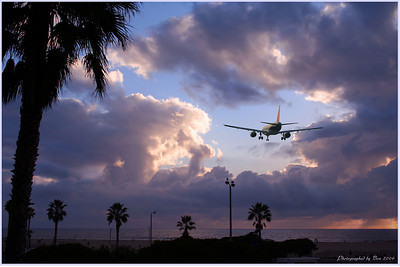 Yup, I added the airplane to Venice beach picture.