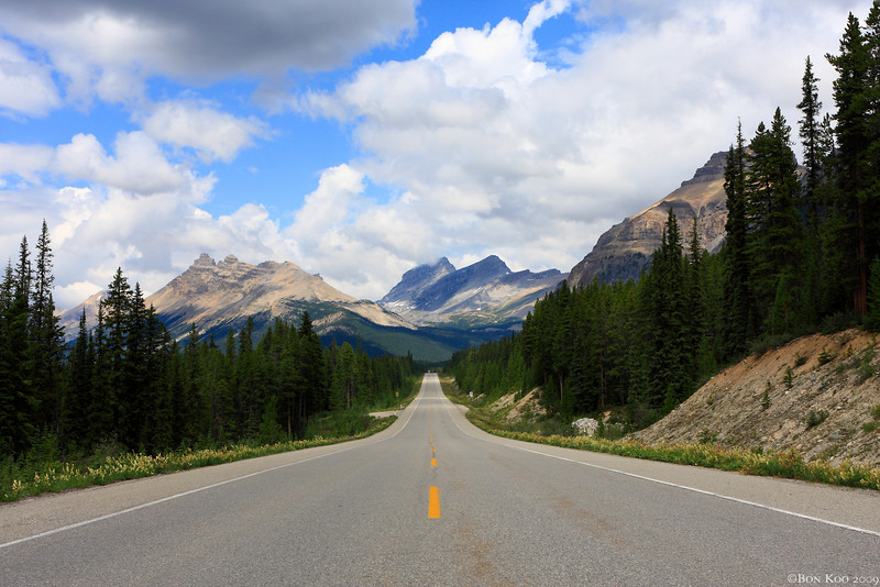 On the way to Icefield.