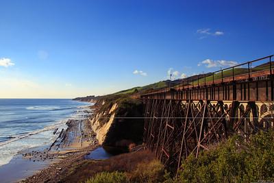 Railroad bridge, Arroyo Hondo