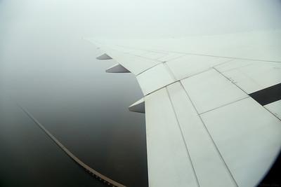 Leaving Korea