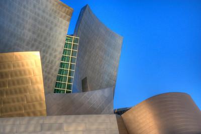Disney Hall, Los Angeles downtown